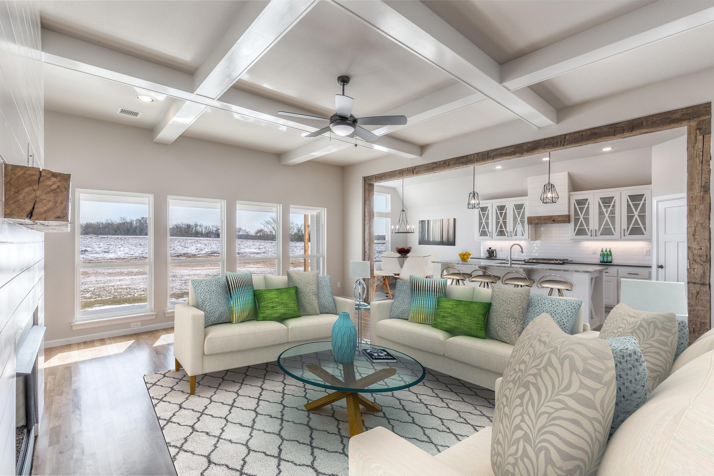 Living Area featured in the Walker FH By Concept Builders, Inc in Tulsa, OK