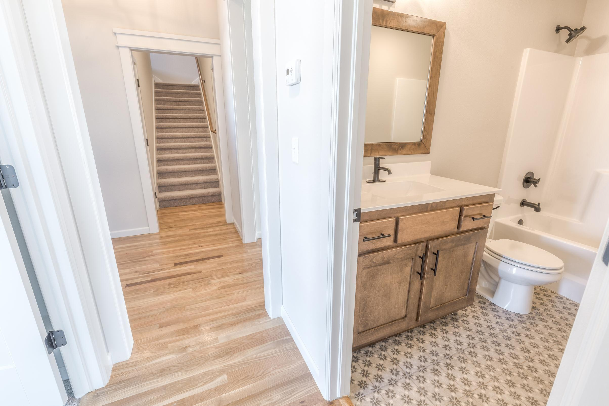 Bathroom featured in the Walker FH By Concept Builders, Inc in Tulsa, OK