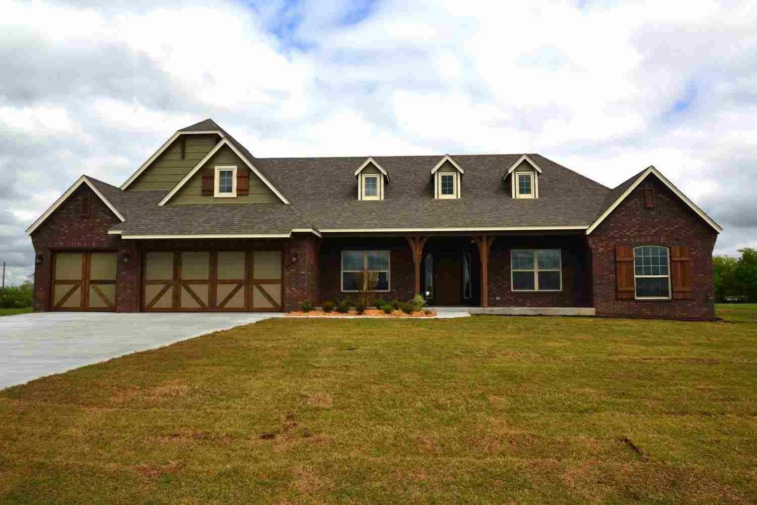 Exterior featured in the Woodland IV By Concept Builders, Inc in Tulsa, OK