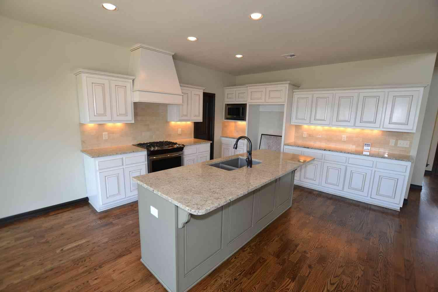 Kitchen featured in the Woodland IV By Concept Builders, Inc in Tulsa, OK
