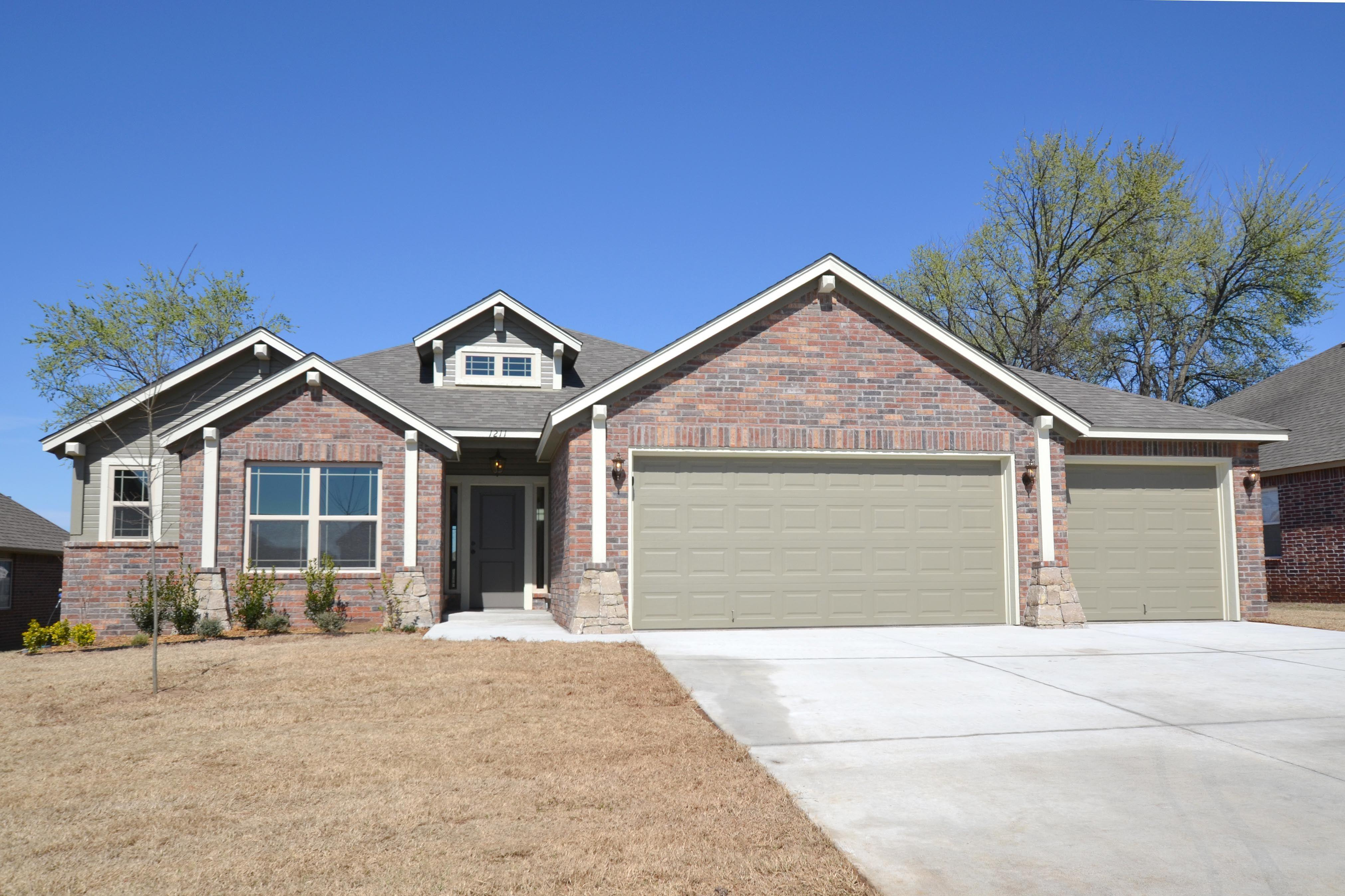 Exterior featured in the Hampton IV 3C By Concept Builders, Inc in Tulsa, OK