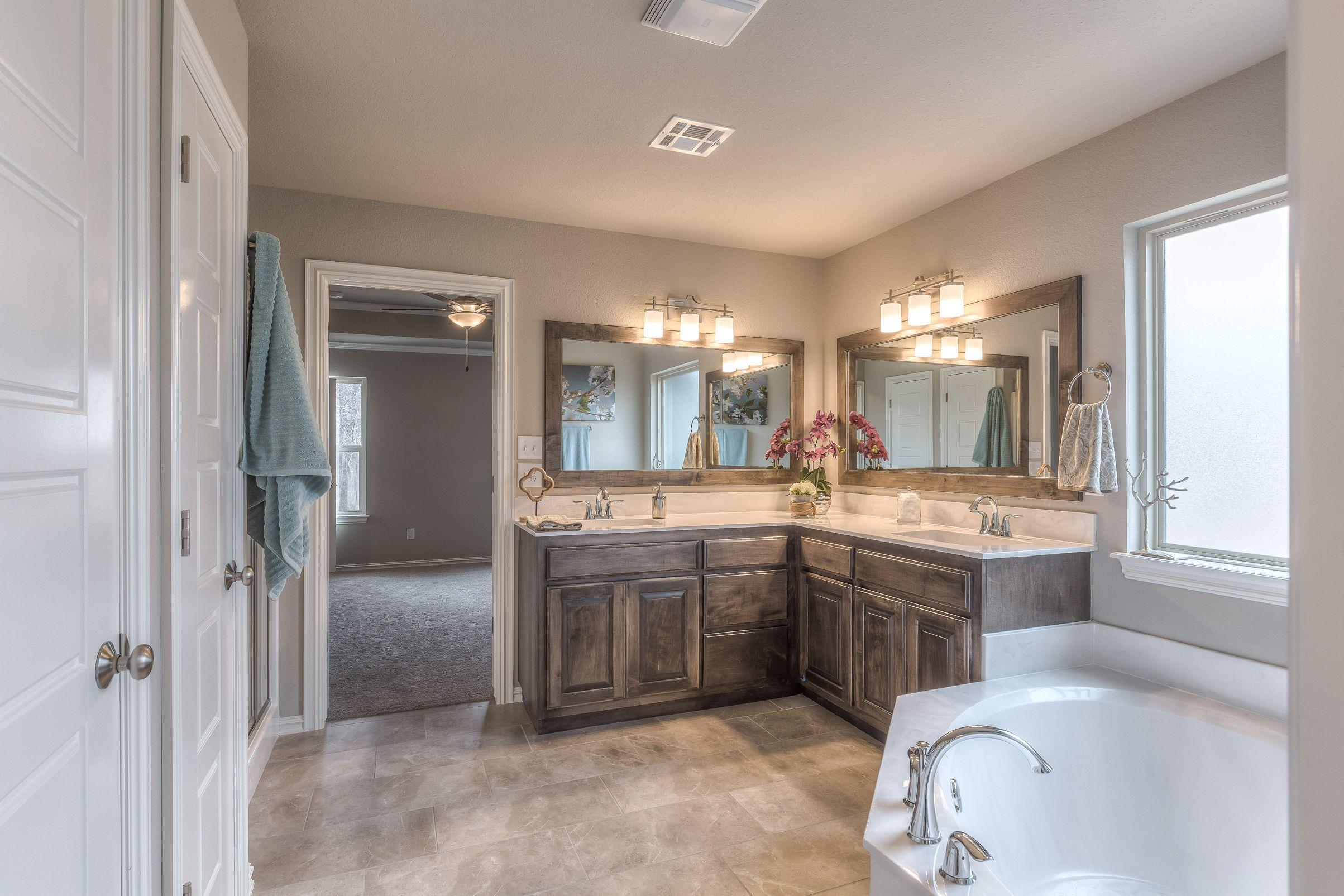 Bathroom featured in the Hampton IV 3C By Concept Builders, Inc in Tulsa, OK