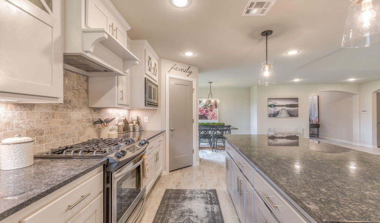 Kitchen featured in the Ridgway By Concept Builders, Inc in Tulsa, OK