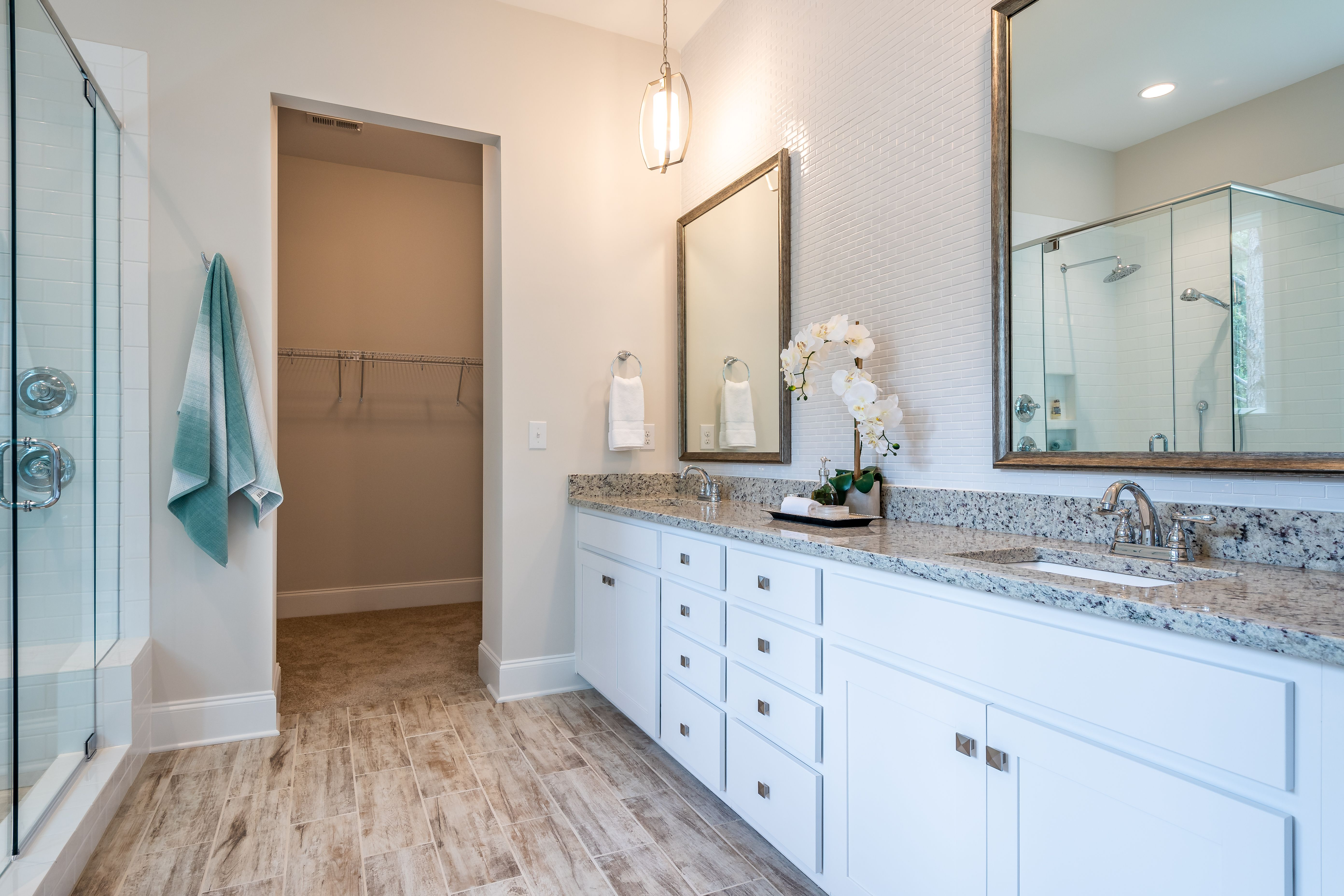 Bathroom featured in the Muirfield with Retreat By Greybrook Homes in Charlotte, NC