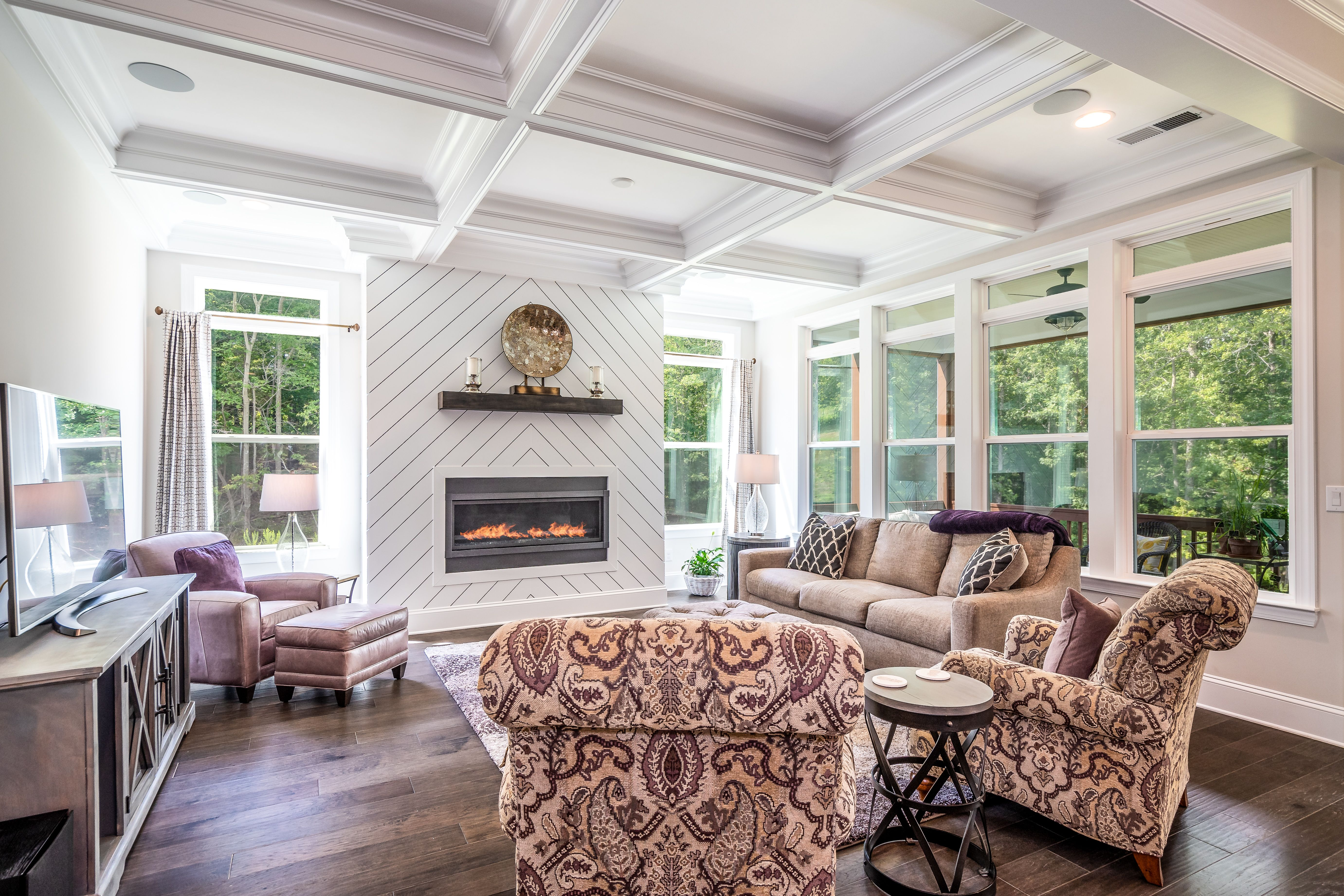 Living Area featured in the Columbia with Retreat By Greybrook Homes in Charlotte, NC