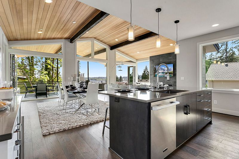 Living Area featured in the RESIDENCE 6 By Conner Homes in Seattle-Bellevue, WA