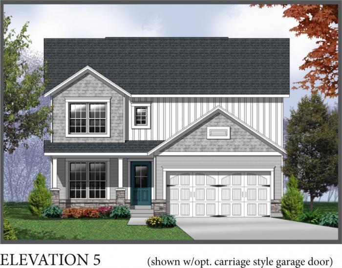 Ashton Elevation 5- Shown w/optional carriage styl