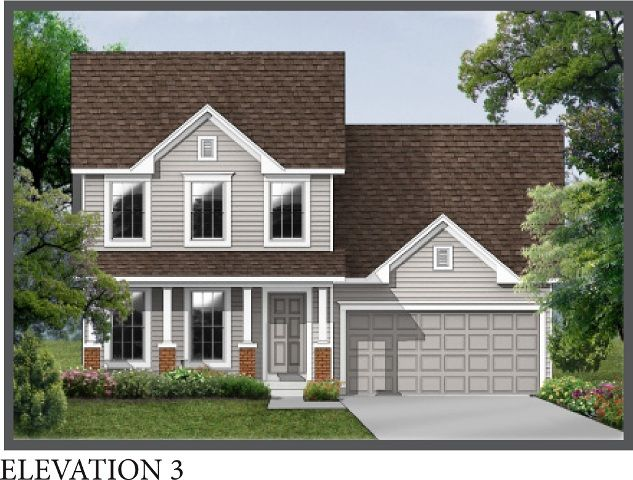 Exterior featured in the Kennesaw By Consort Homes in St. Louis, MO