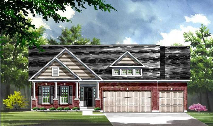 Exterior featured in the Sierra By Consort Homes in St. Louis, MO