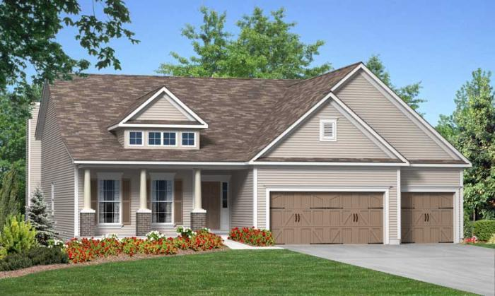 Exterior featured in the Rosemont By Consort Homes in St. Louis, MO