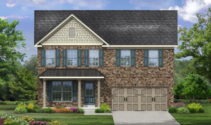 Stamford Elevation 2- Shown w/optional carriage st
