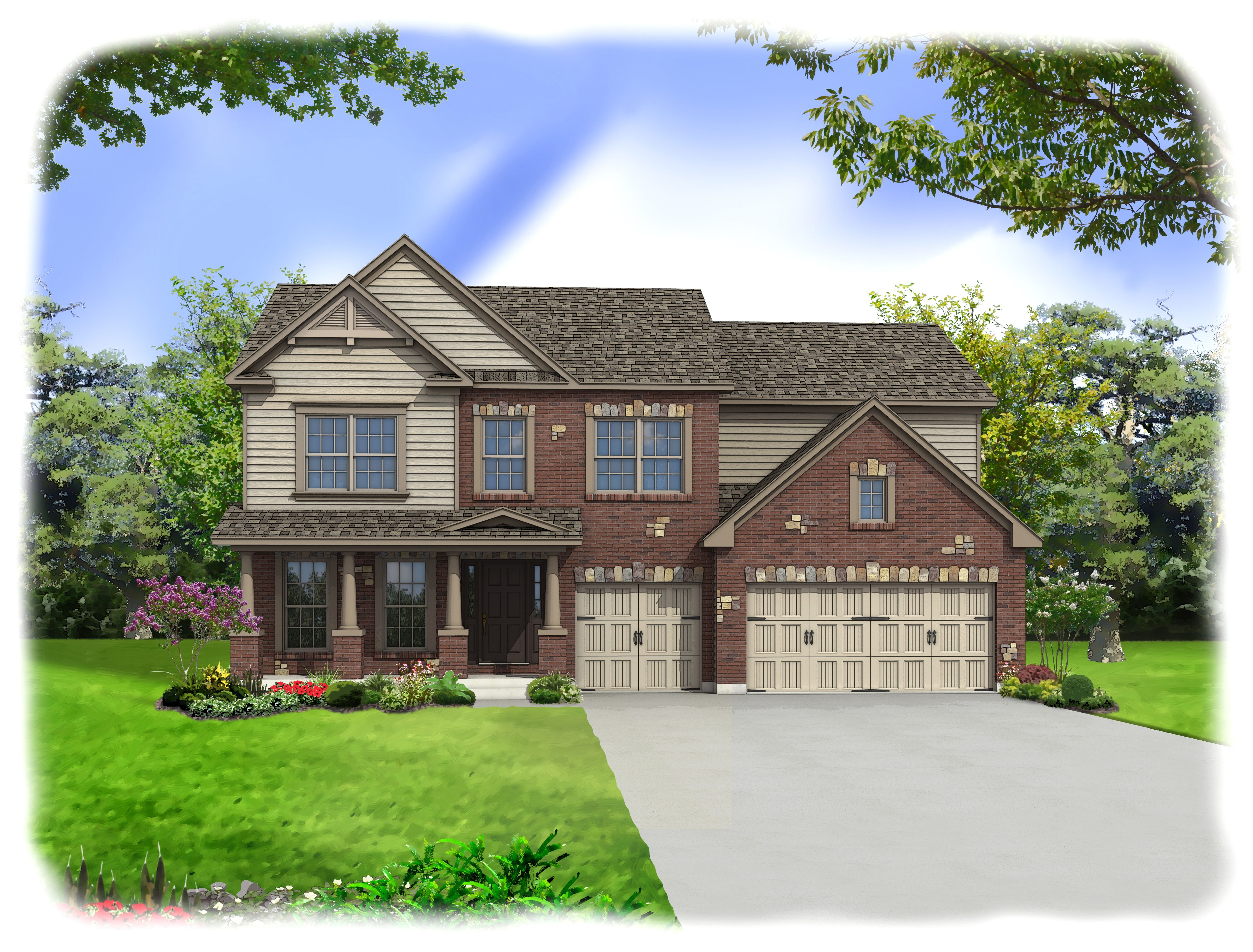 Exterior featured in the Windsor By Consort Homes in St. Louis, MO