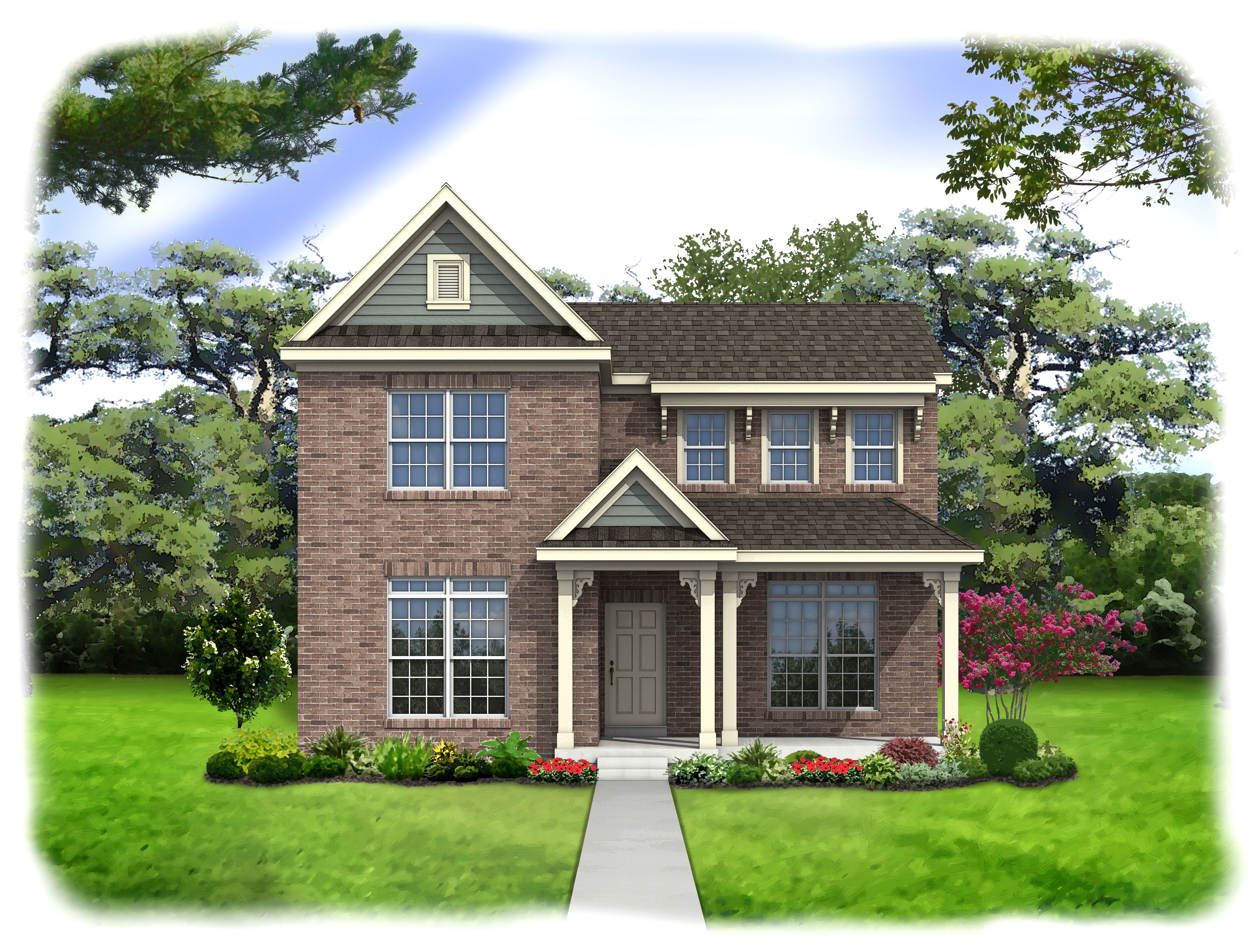 Exterior featured in the Manchester By Consort Homes in St. Louis, MO