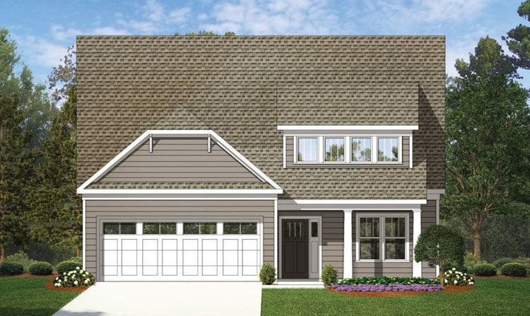 Millbank In Fort Mill Sc New Homes Floor Plans By Copper Builders