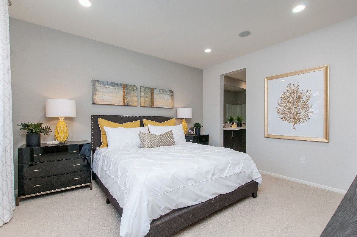 Bedroom featured in the Residence 1 By Cornerstone Communities in San Diego, CA