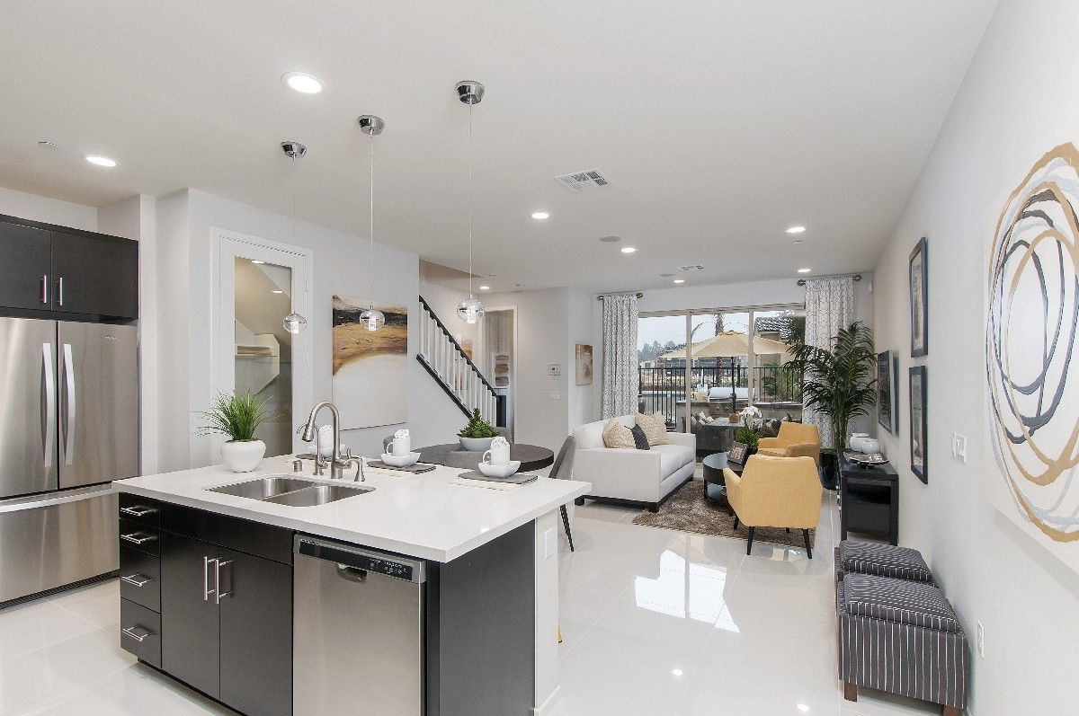 Living Area featured in the Residence 1 By Cornerstone Communities in San Diego, CA