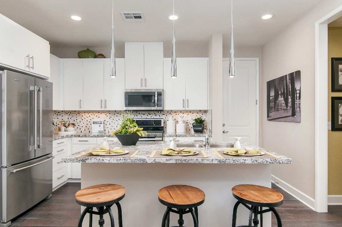 Kitchen featured in the Residence 2 By Cornerstone Communities in San Diego, CA