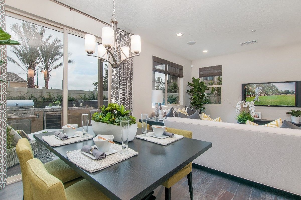 Living Area featured in the Residence 2 By Cornerstone Communities in San Diego, CA