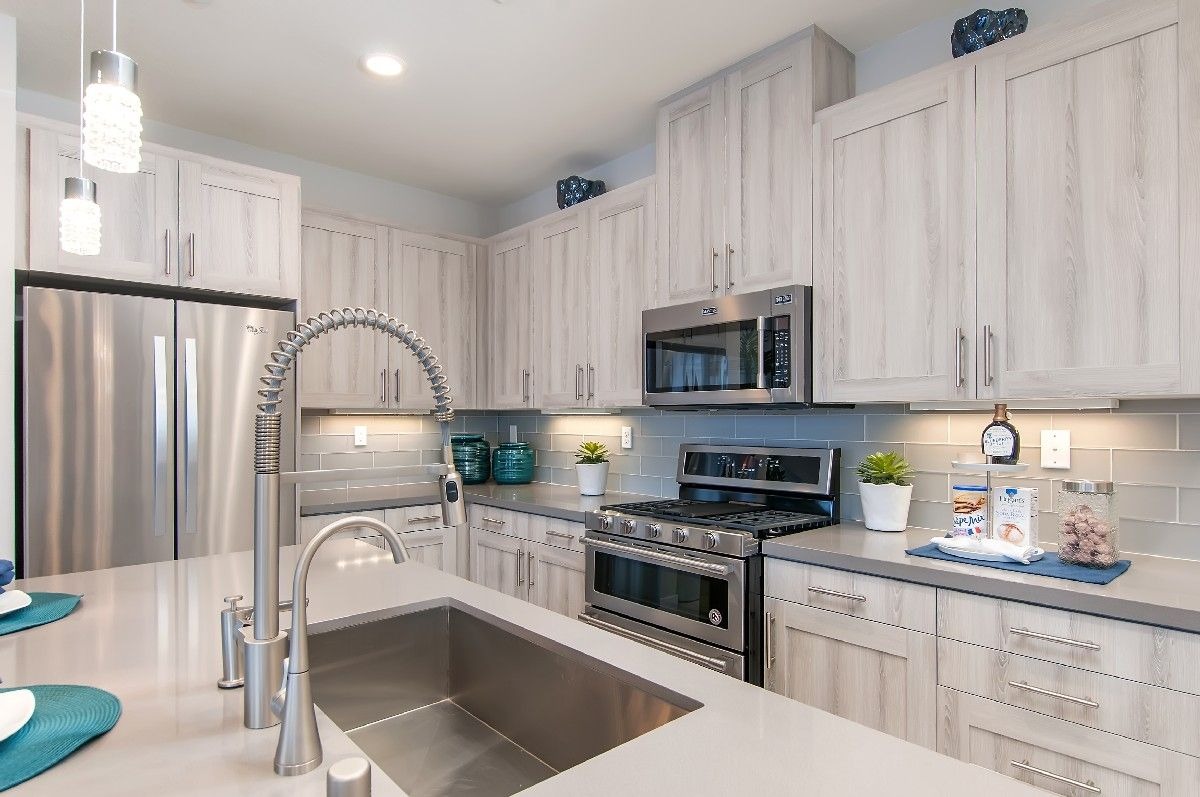 Kitchen featured in the Residence 3 By Cornerstone Communities in San Diego, CA