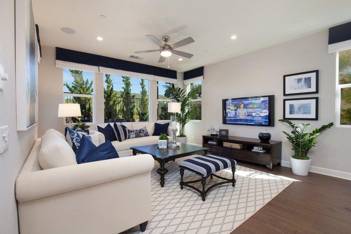 Living Area featured in the Residence 2 By Cornerstone Communities in Riverside-San Bernardino, CA