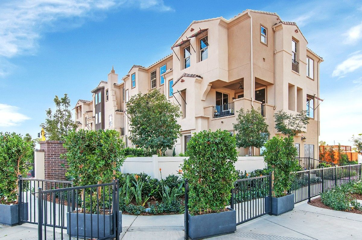Exterior featured in the Residence 1 By Cornerstone Communities in San Diego, CA