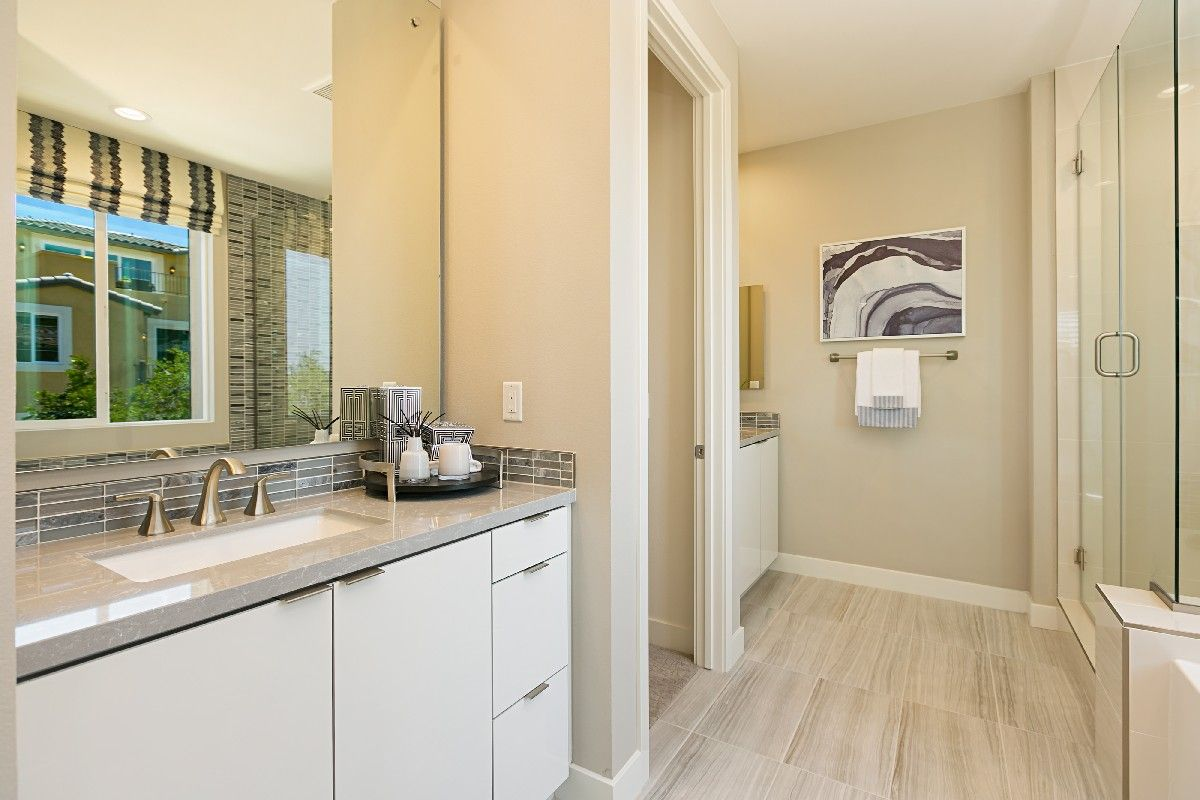 Bathroom featured in the Residence 2 By Cornerstone Communities in San Diego, CA