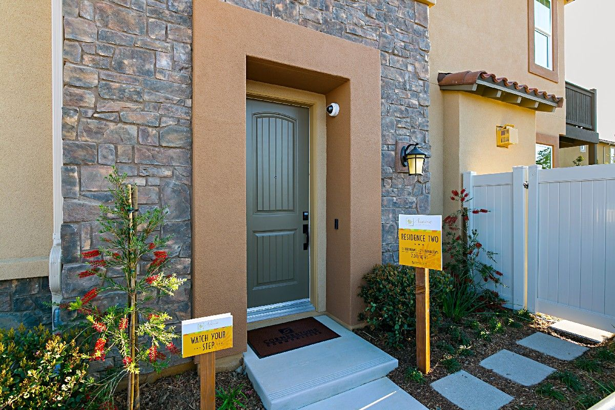 Exterior featured in the Residence 2 By Cornerstone Communities in San Diego, CA
