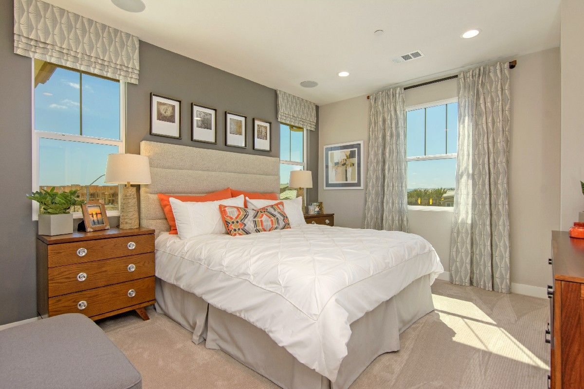 Bedroom featured in the Residence 3 By Cornerstone Communities in San Diego, CA