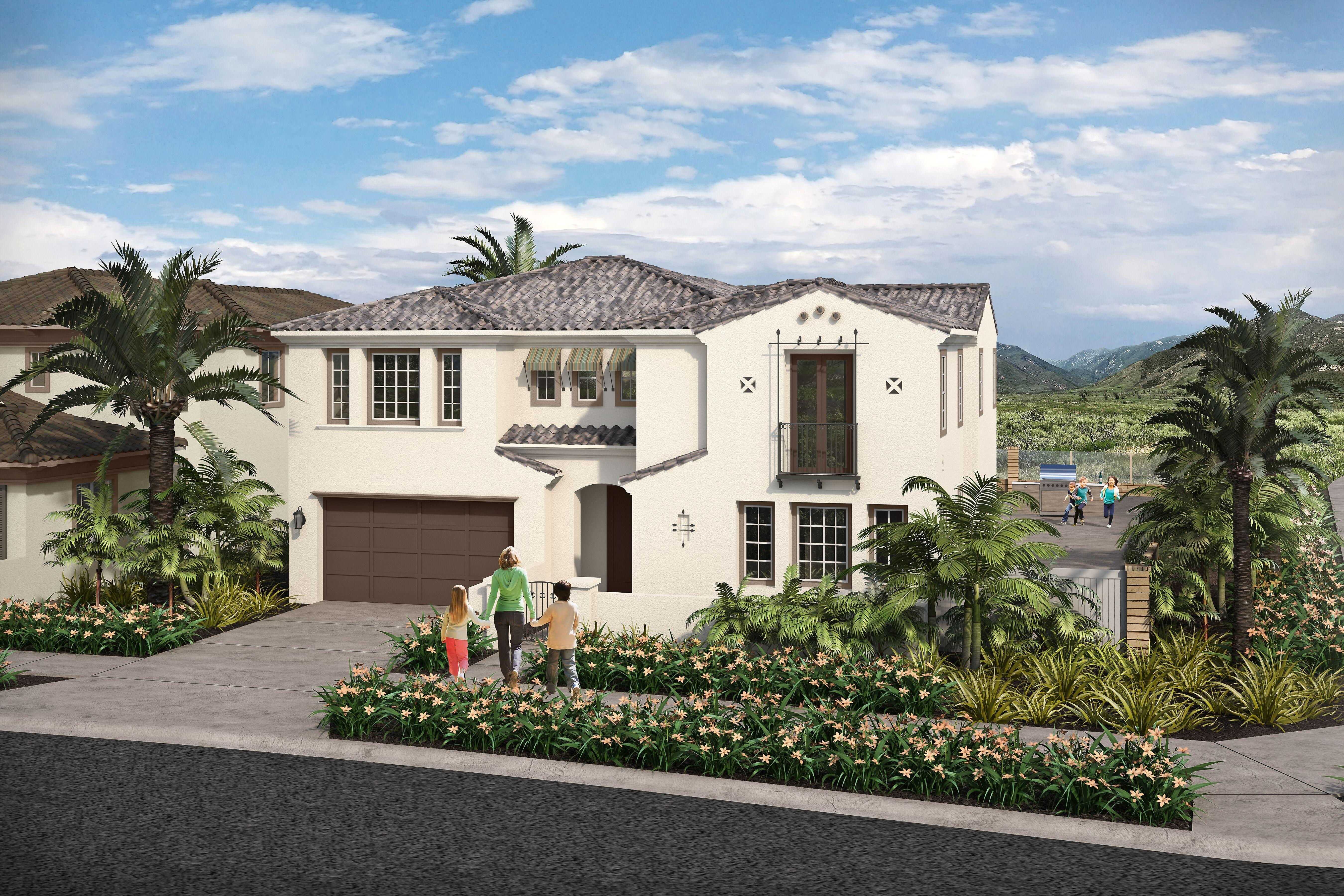 Exterior featured in the Residence 3 By Cornerstone Communities in San Diego, CA