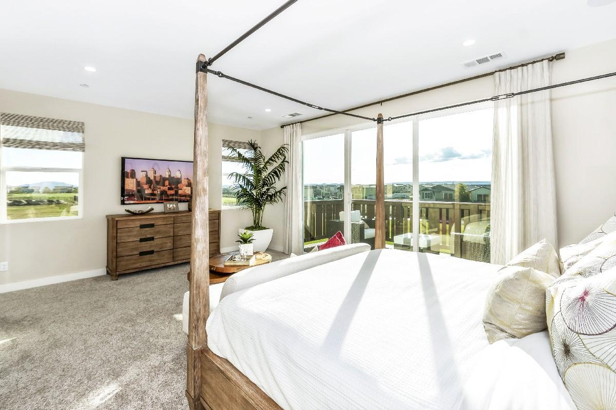 Bedroom featured in the Residence 3 By Cornerstone Communities in Riverside-San Bernardino, CA