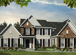 The Hartford - Gwynedd's Preserve at Prospect: North Wales, Pennsylvania - Cornerstone Premier Homes