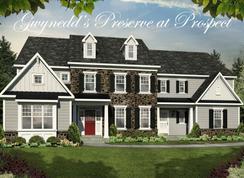 The New Haven - Gwynedd's Preserve at Prospect: North Wales, Pennsylvania - Cornerstone Premier Homes