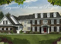 The Norwich - Gwynedd's Preserve at Prospect: North Wales, Pennsylvania - Cornerstone Premier Homes