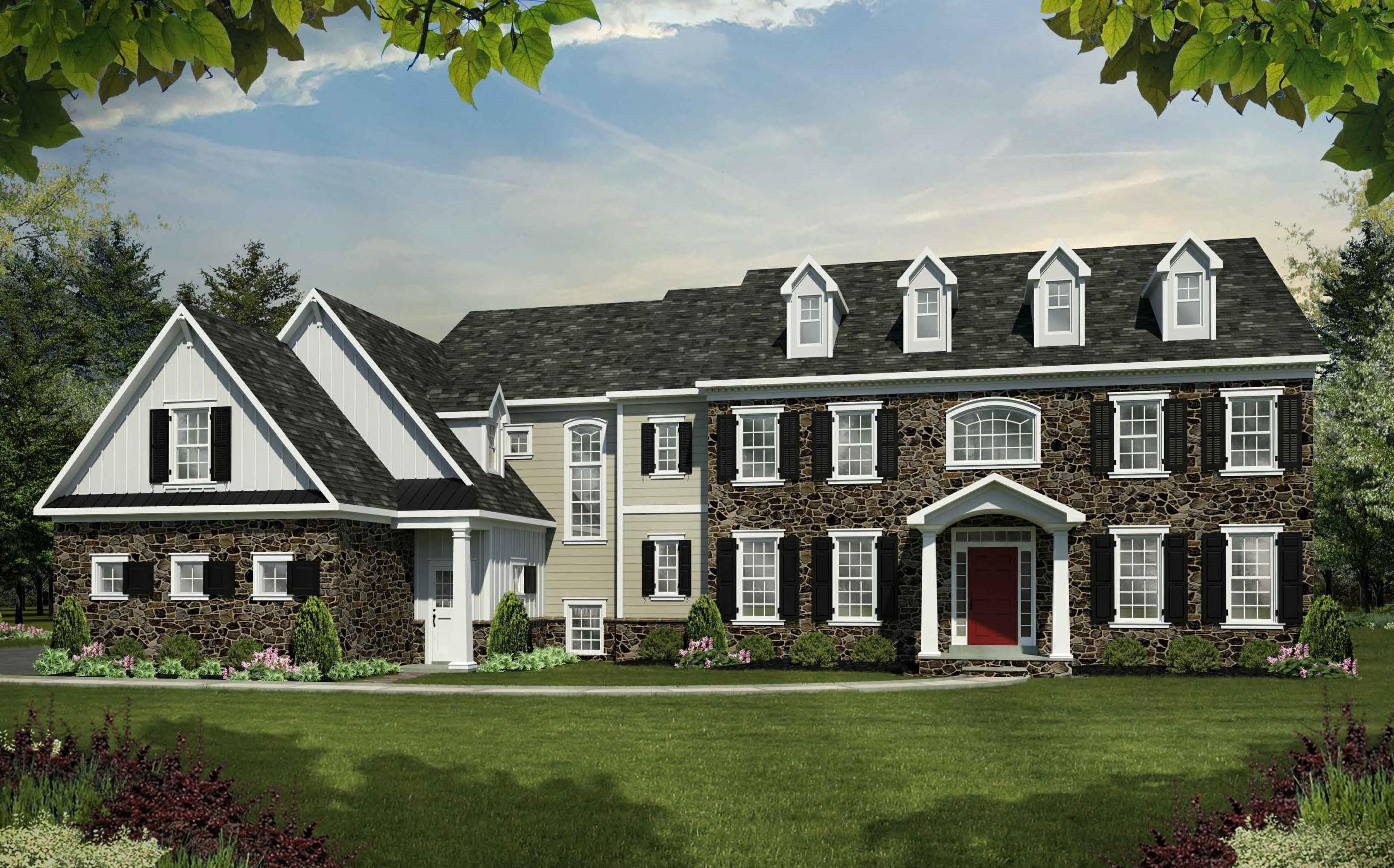 'Gwynedd's Preserve at Prospect' by Cornerstone Premier Homes in Philadelphia