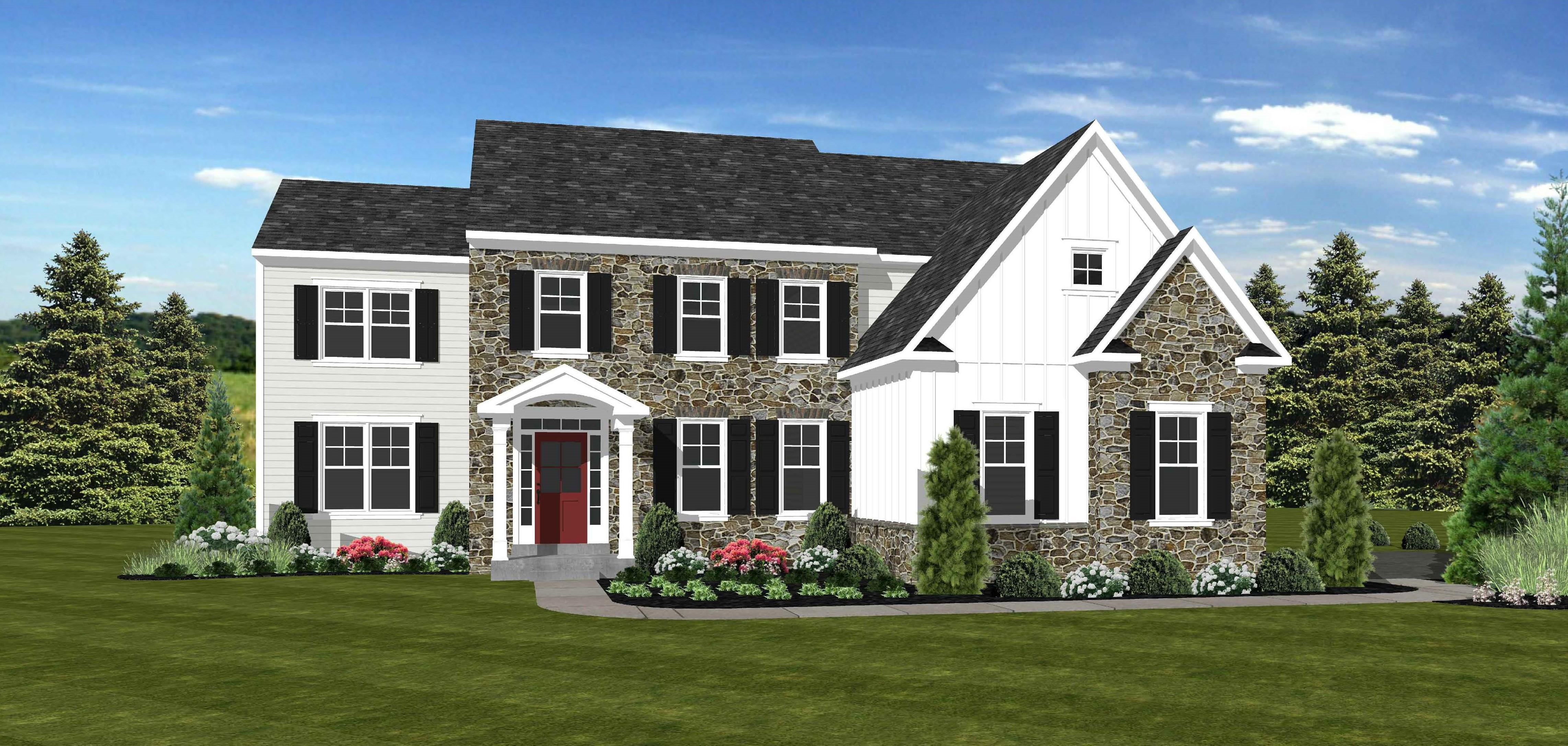 Exterior featured in The Belton By Cornerstone Premier Homes in Philadelphia, PA