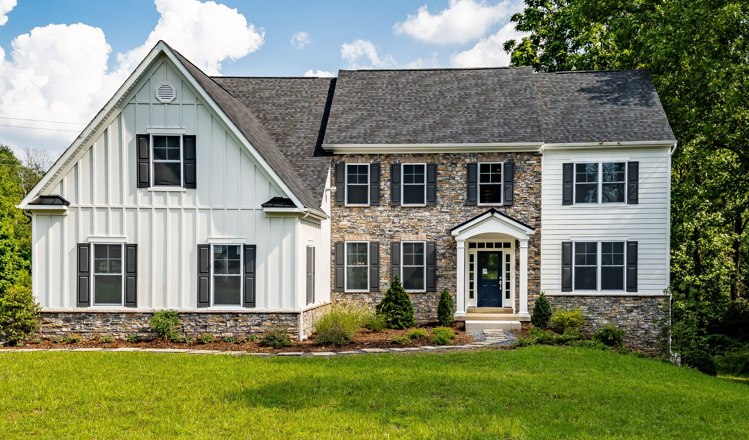 Exterior featured in The Gwynwood By Cornerstone Premier Homes in Philadelphia, PA