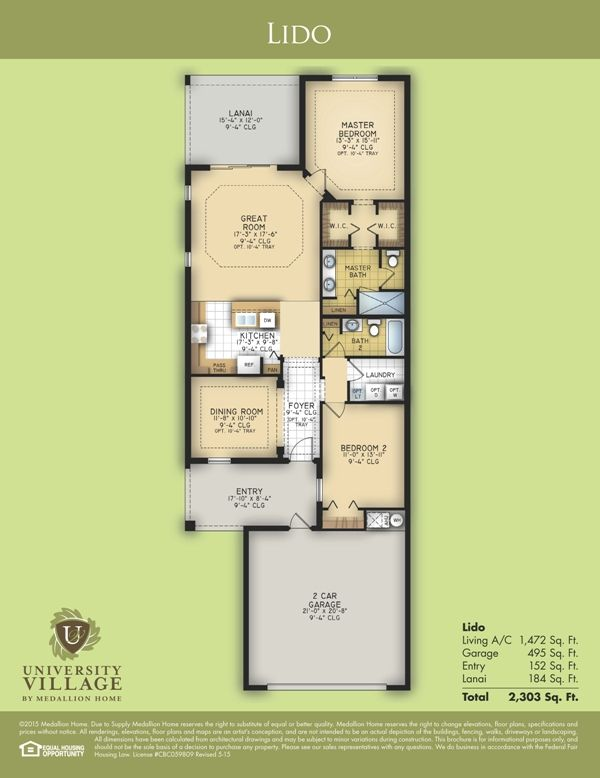 Lido Floor Plan