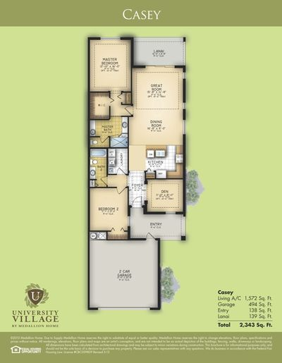Casey Floor Plan