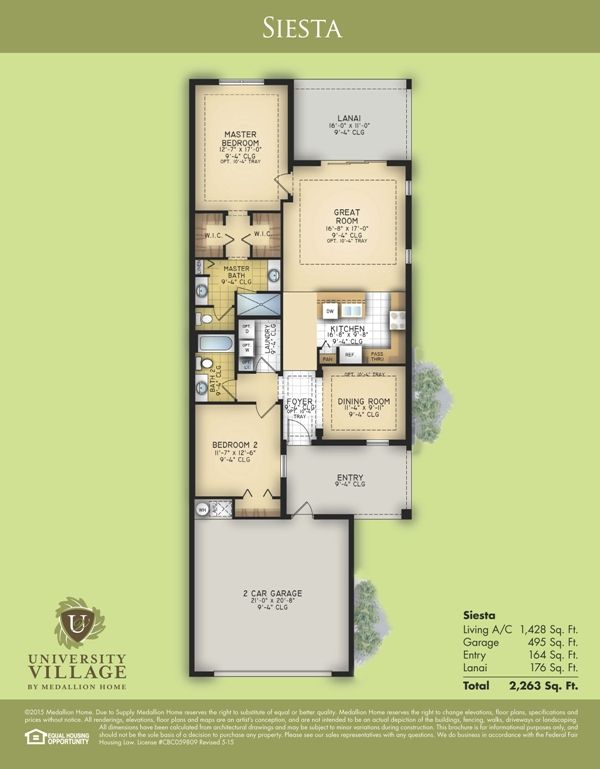 Siesta Floor Plan