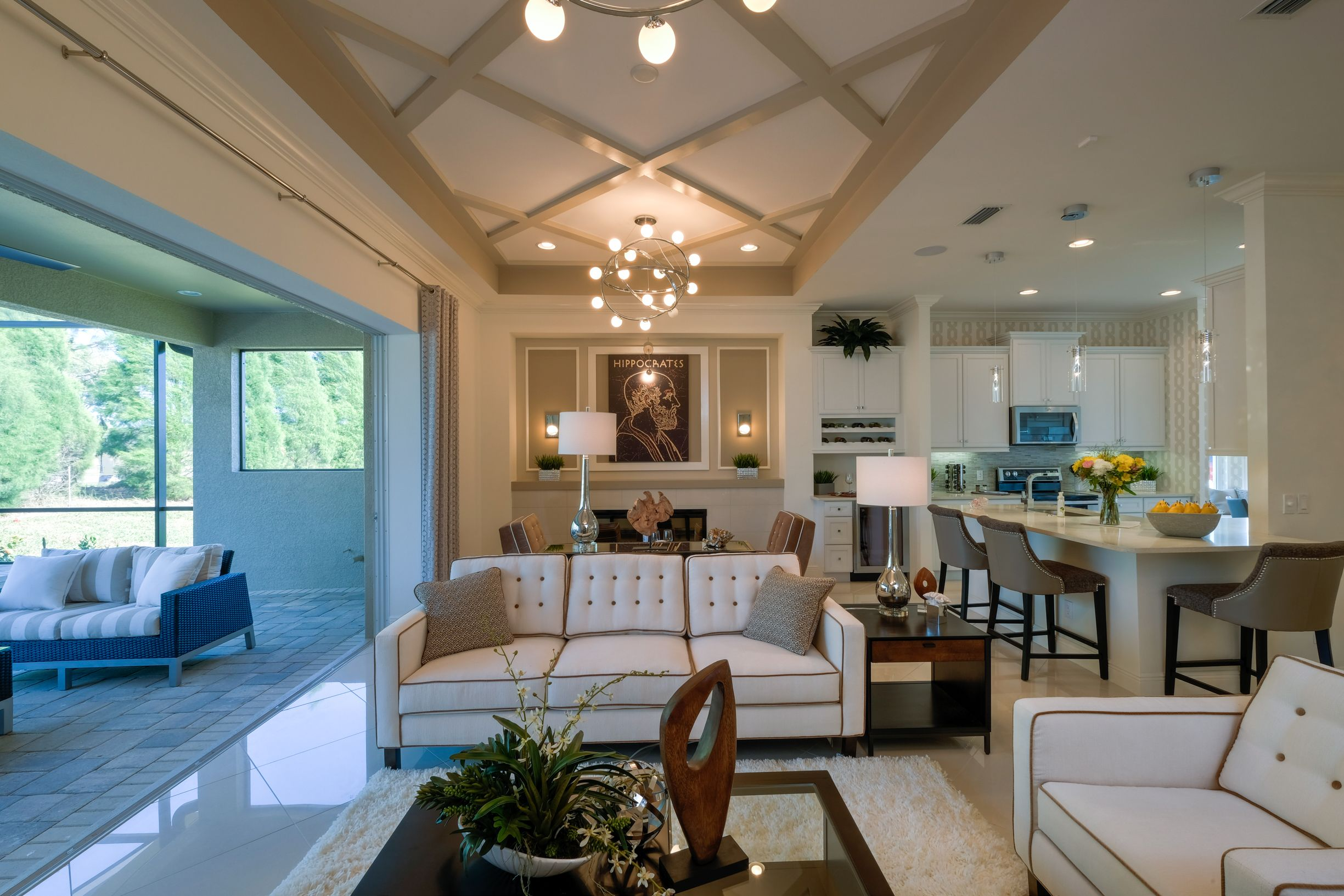 Living Area featured in the Grenada By Medallion Home in Sarasota-Bradenton, FL