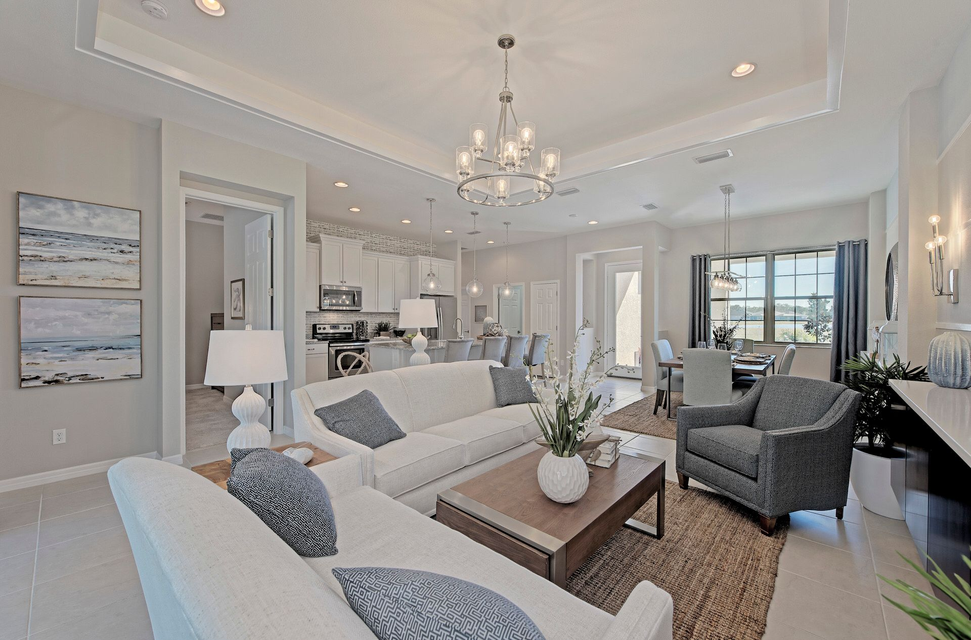 Living Area featured in the Harbour By Medallion Home in Sarasota-Bradenton, FL