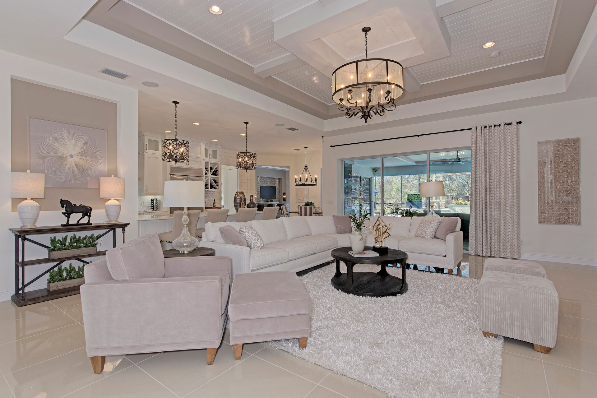 Living Area featured in the Santa Maria By Medallion Home in Sarasota-Bradenton, FL
