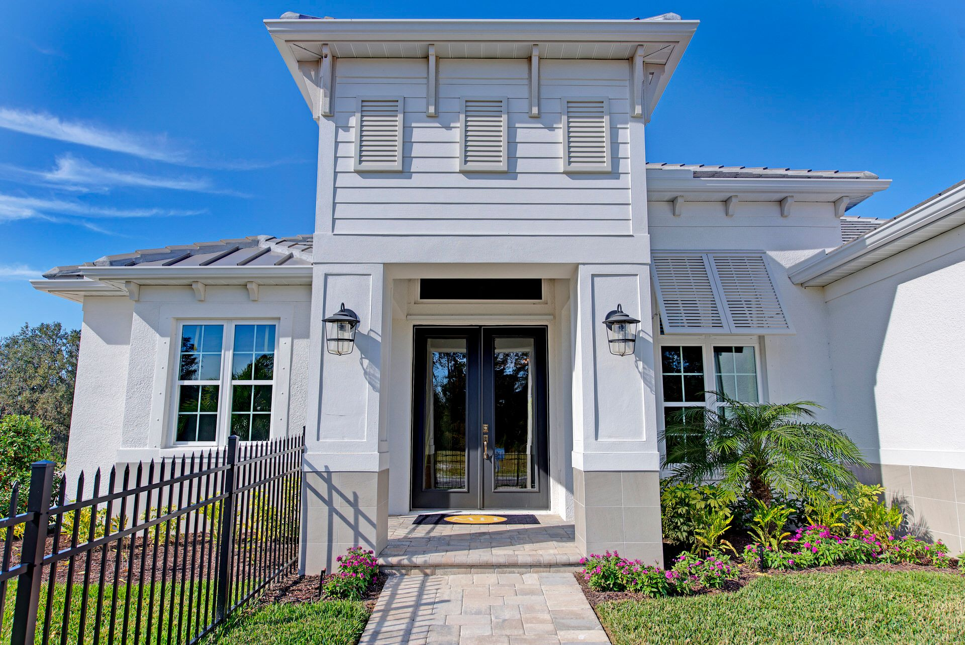 Exterior featured in the Belize By Medallion Home in Sarasota-Bradenton, FL