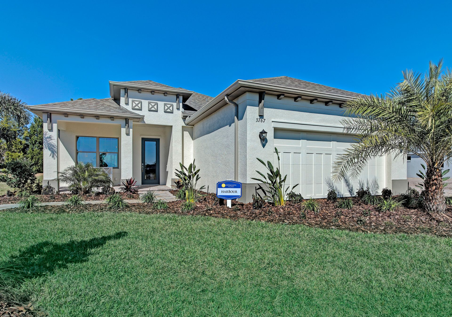 Exterior featured in the Harbour By Medallion Home in Sarasota-Bradenton, FL