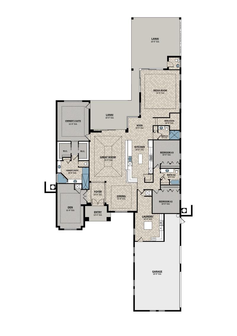 Coastal Floor Plan