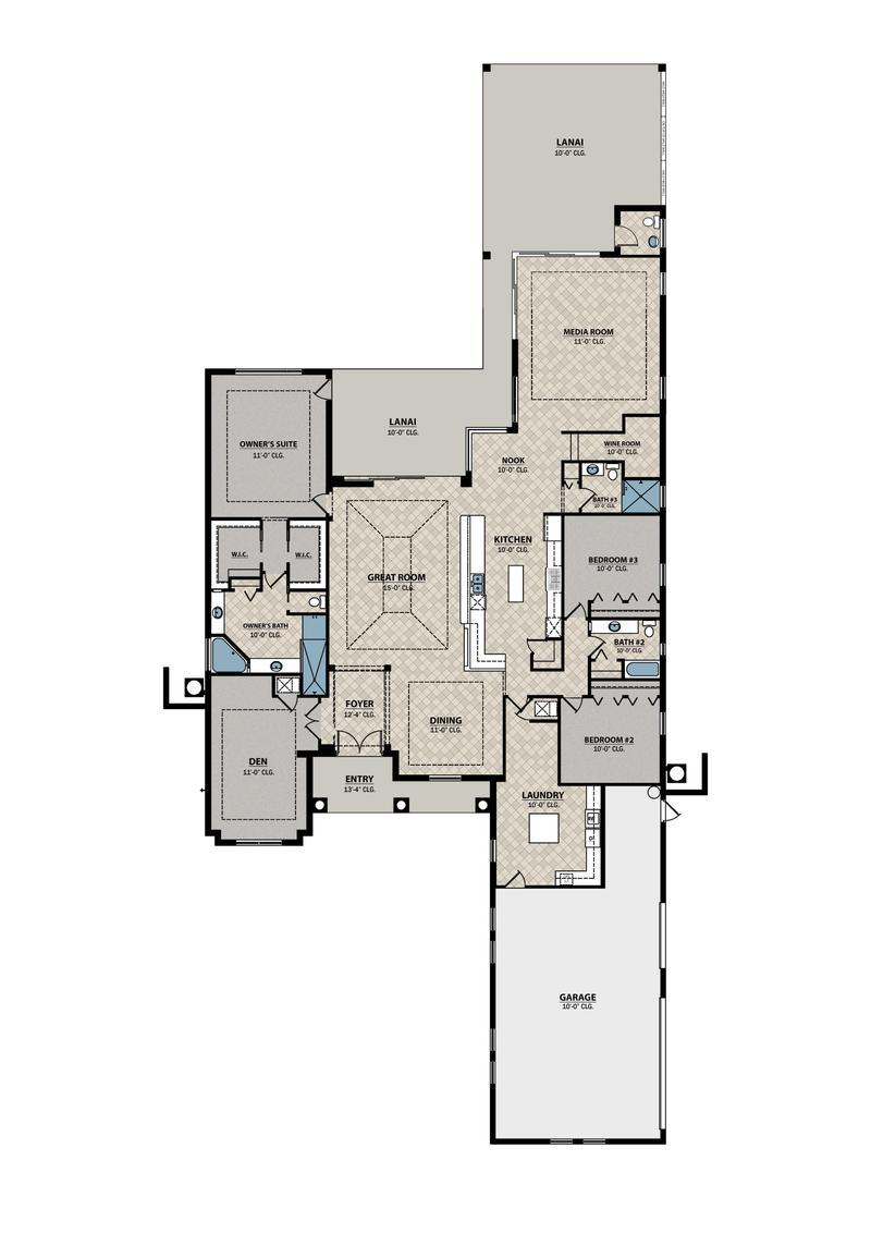 Tuscan Floor Plan