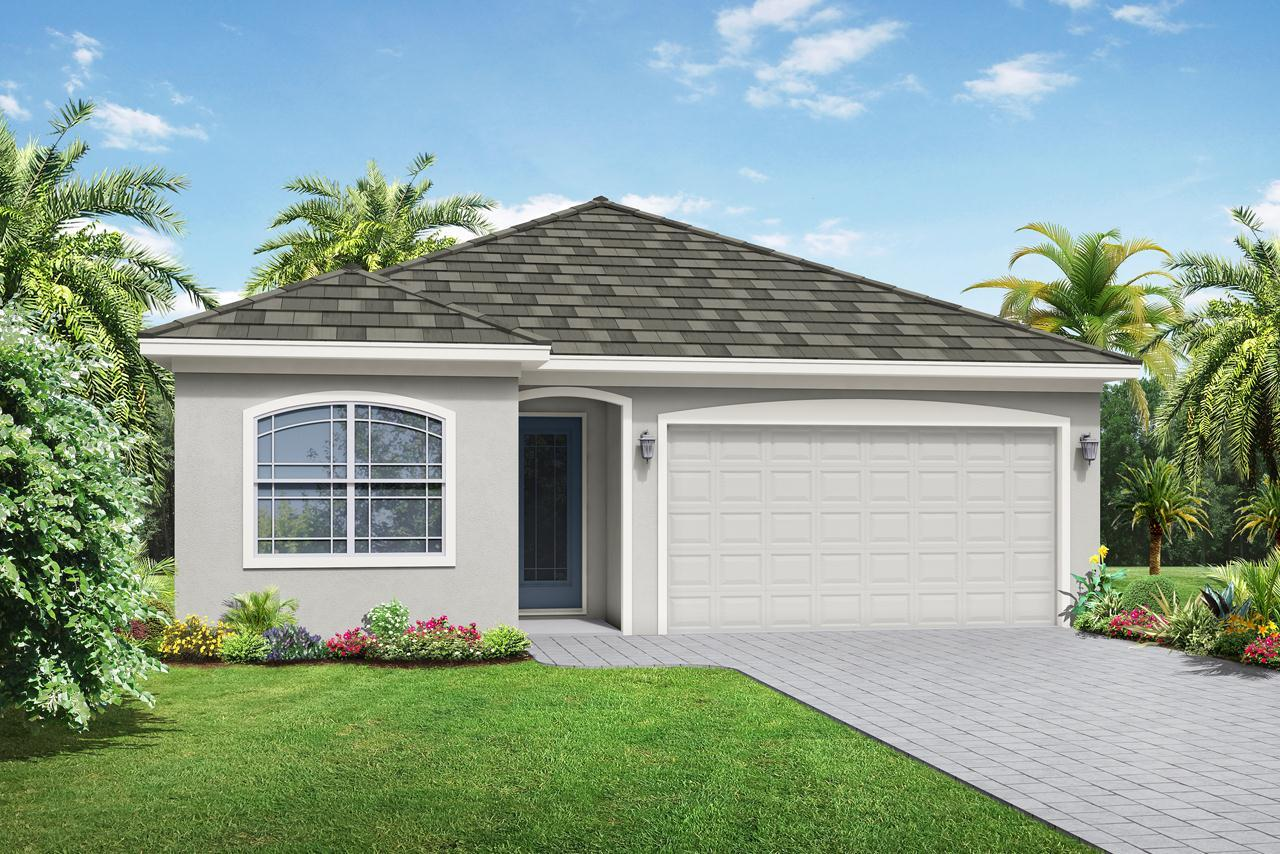 Exterior featured in the Antigua By Medallion Home in Orlando, FL