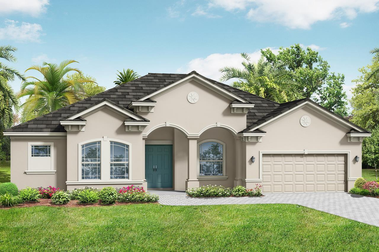 Exterior featured in the Barbados 2800 By Medallion Home in Orlando, FL