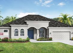 Barbados 2800 3 Car Garage - The Reserve at Twin Rivers: Parrish, Florida - Medallion Home