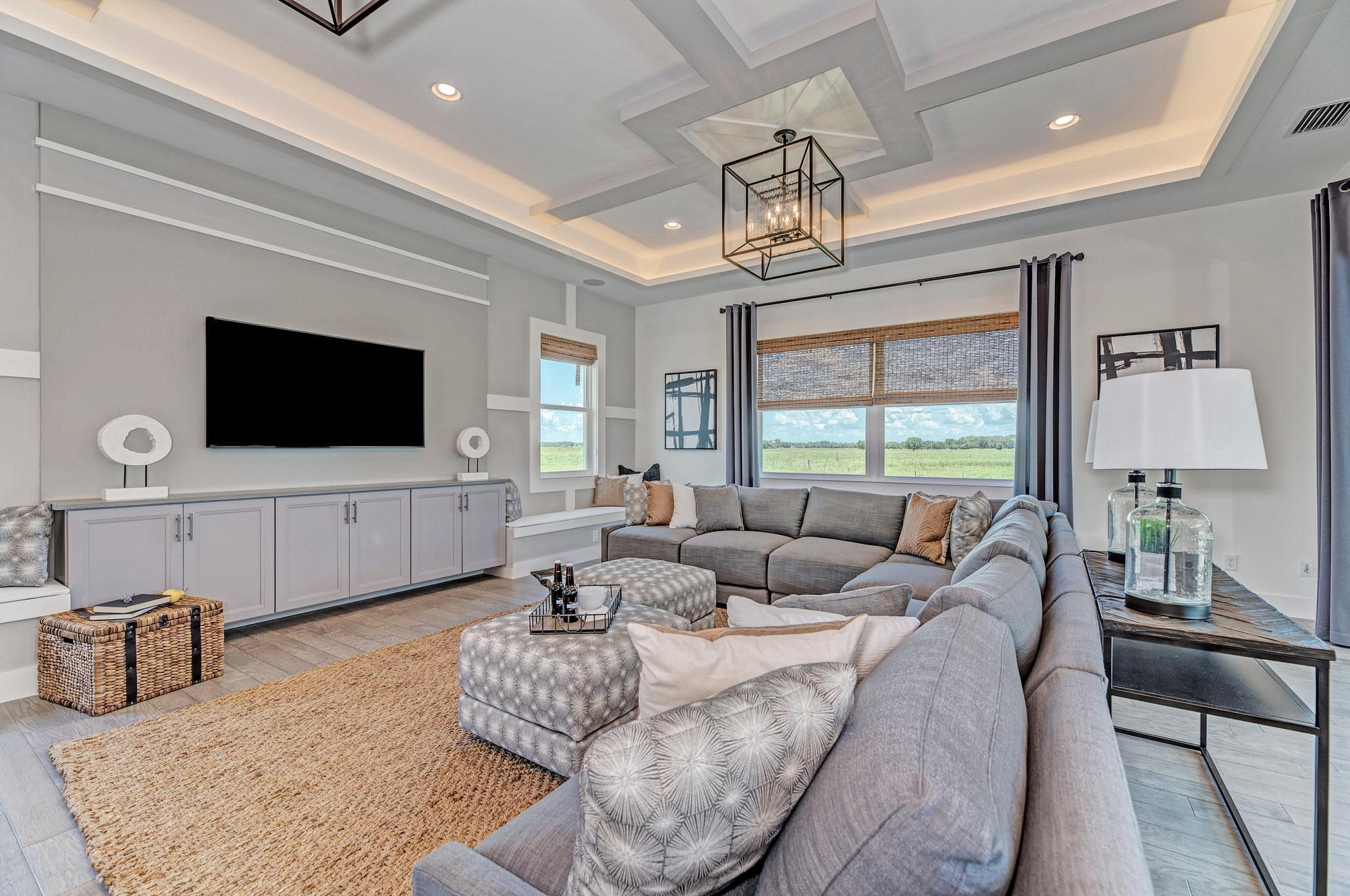 Living Area featured in the Barbados 2800 3 Car Garage By Medallion Home in Sarasota-Bradenton, FL